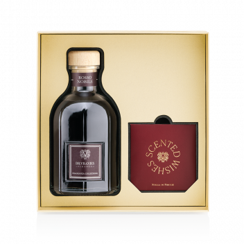 """Gift Box Rosso Nobile 500ml with a """"Christmas Star"""" Decoration"""